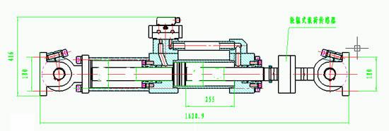 该支撑油缸的工作原理及结构图,讲解尽量详细点.谢谢!